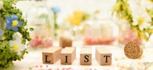 Where To Start With Your Wedding Gift List